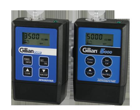 Gilian 3500 and Gilian 5000 Heavy Duty Air Sampling Pumps